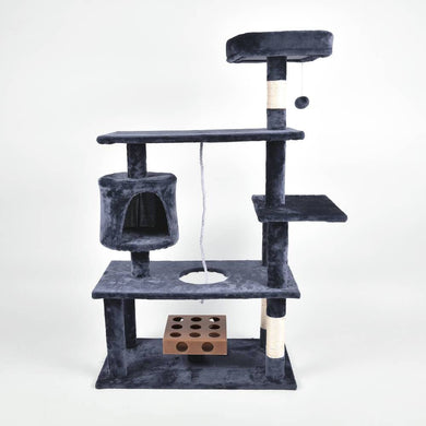 PaWz 1.25M Cat Scratching Post Tree Gym House Condo Furniture Scratcher Tower