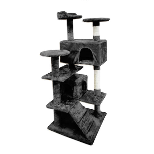 Cat Scratching Post Specialists | Cat Scratcher Trees & Poles 130cm Cat Scratching Post / Tree / Pole - Black