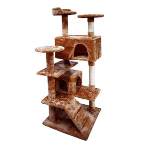 Cat Scratching Post Specialists | Cat Scratcher Trees & Poles 130cm Cat Scratching Post / Tree / Pole - Brown