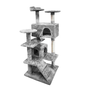 Cat Scratching Post Specialists | Cat Scratcher Trees & Poles 130cm Cat Scratching Post / Tree / Pole - Grey