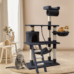 Cat Scratching Post Specialists | Cat Scratcher Trees & Poles 141cm Cat Scratching Post / Tree / Pole - Grey