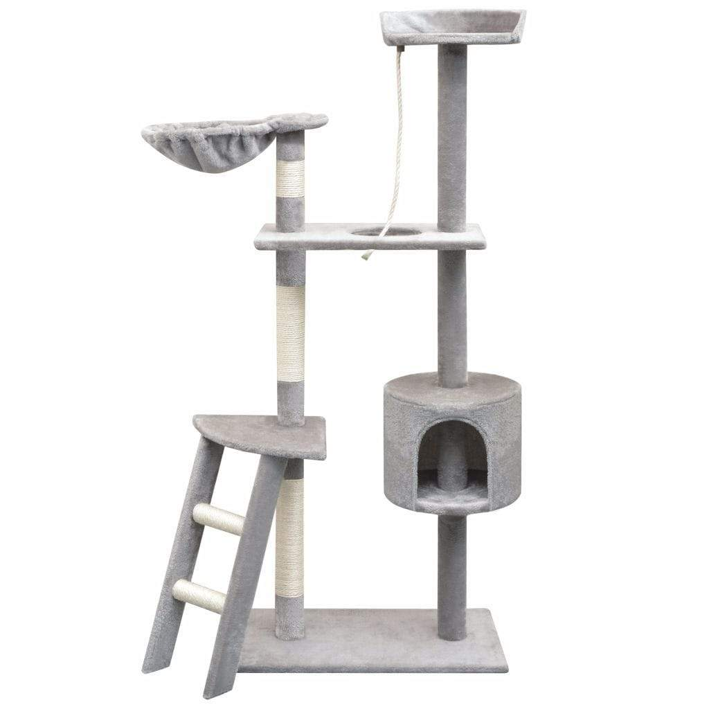 150cm Cat Scratching Post / Tree / Pole - Grey