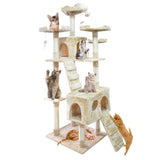 180cm Cat Scratching Post / Tree / Pole - Beige