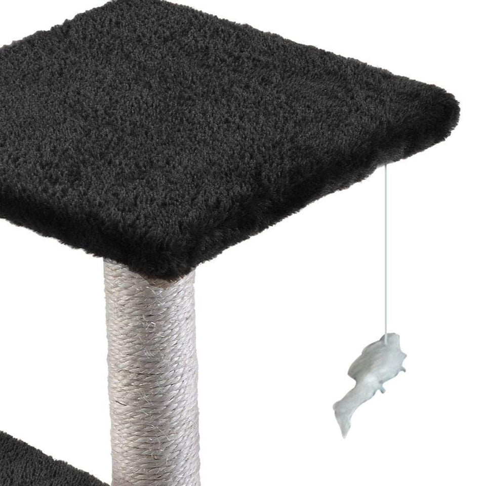 Cat Scratching Post Specialists | Cat Scratcher Trees & Poles 60cm Cat Scratching Post / Tree / Pole - Black
