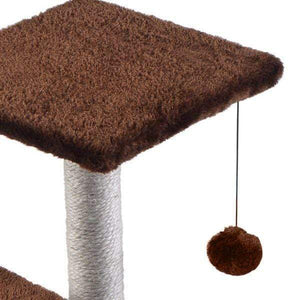 60cm Cat Scratching Post / Tree / Pole - Brown