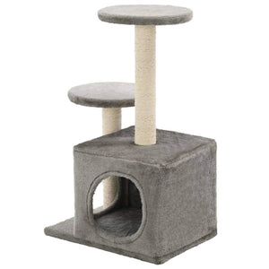 60cm Cat Scratching Post / Tree / Pole - Grey