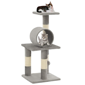 65cm Cat Scratching Post / Tree / Pole - Grey
