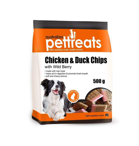 Chicken & Duck Chips with Wild Berry