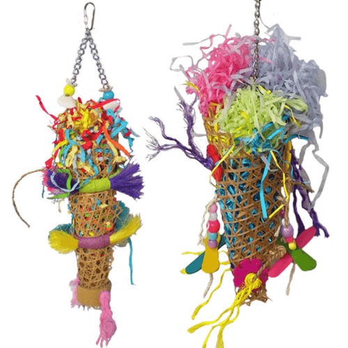 Clawz Toyz Fantails Bird Toy