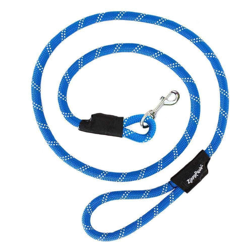 Climbers Dog Leash - Blue 6 Feet