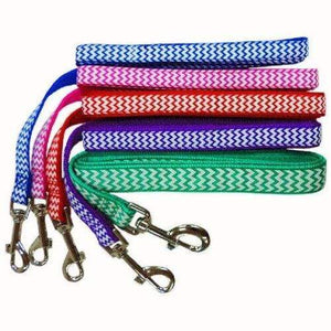 Coloured Zig Zag Dog Lead / Dog Leash