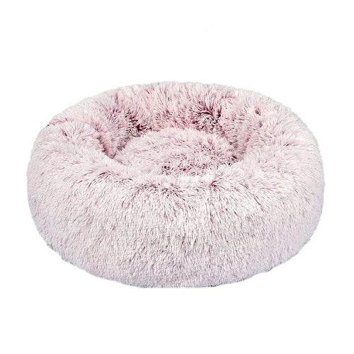 Dog & Cat Donut Bed - Pink