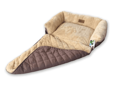 Beige 'Chilled-Out Pup' Soft Pet Sofa Bed