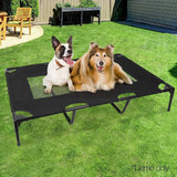 Pet Care Extra Large Mesh Pet Trampoline - Black