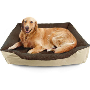 Pawz Pet Bed Mattress Dog Cat Pad Mat Cushion Soft Winter Warm X Large Cream