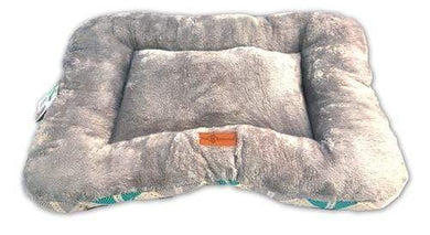 Flat Cushioned 2-in-1 Grey Pet Bed / Mat