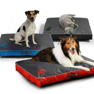 PaWz Pet Bed Mattress Dog Cat Pad Mat Summer Winter Cushion Pillow Size L Black