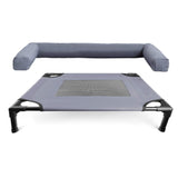 Size Small Grey Colour Raised Pet Cot