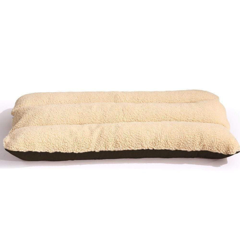 Soft Pet Bed Mattress For Dog & Cat - Brown