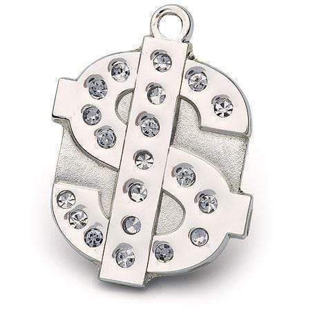 DOLLAR BLING PET ID TAG