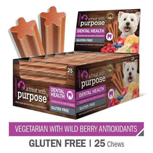 "EVOLUTION ""A TREAT WITH PURPOSE "" VEGETARIAN WITH WILD BERRY ANTIOXIDANTS 25 PER CARTON"