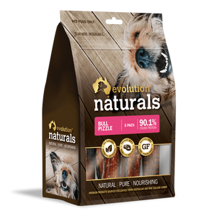 Evolution Naturals Bull Pizzle 5 pack