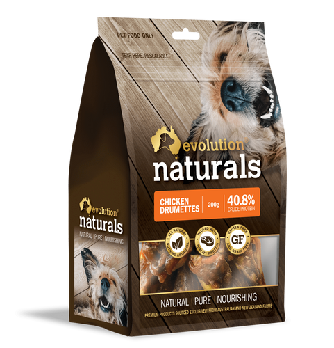 Evolution Naturals Chicken Drumettes 200 g x 2 packets