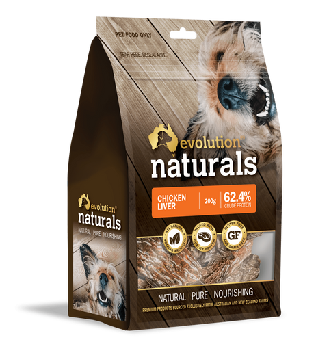 Evolution Naturals Chicken Liver 200 g x 2 packets