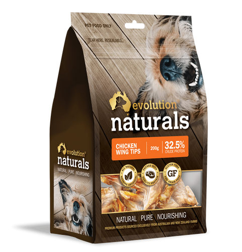 Evolution Naturals Chicken Wing Tips 150 g x 2 packs