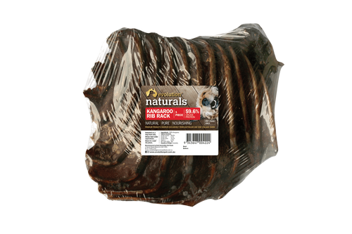 Evolution Naturals Kangaroo Rib Rack 20 per carton