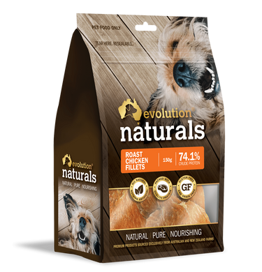 Evolution Naturals Roast Chicken Fillets 150 g
