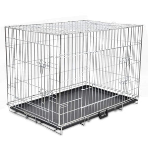 Foldable Metal Dog Cage XL
