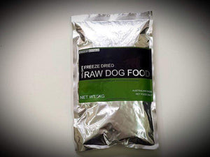 Freeze Dry Australia Raw Food with Oats - 400g
