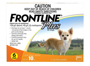 Frontline Plus Small 0.67mL (3 Pack)