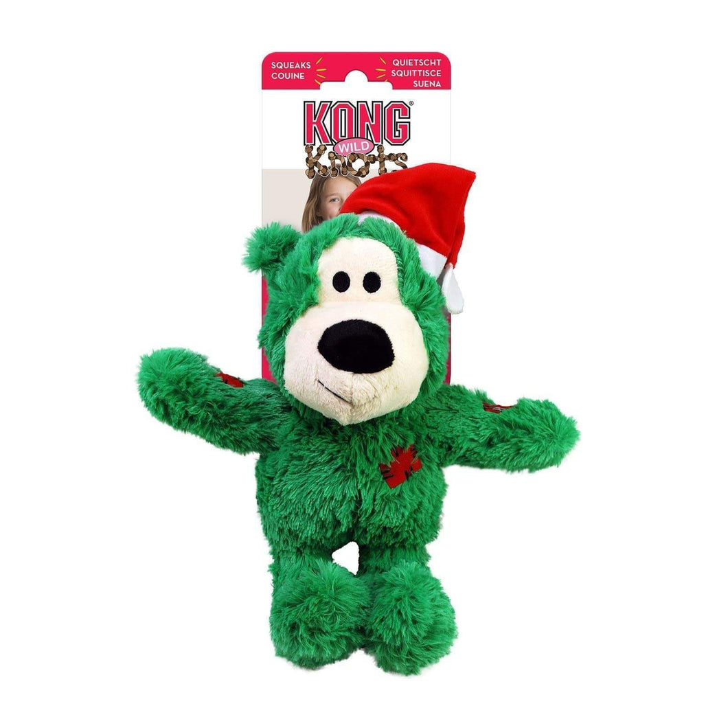 Holiday Wild Knots Bear Assorted For Small-Medium