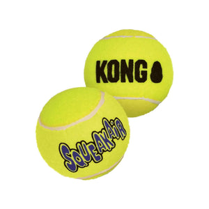 KONG AirDog Squeaker Balls 6 Pack Medium