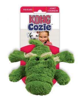 KONG Cozie Ali Alligator Medium