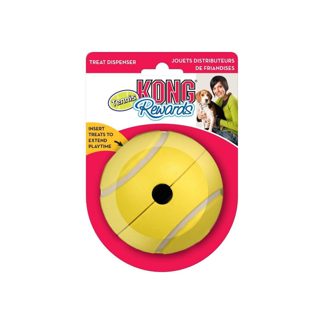 Kong Rewards Tennis Treat Dog Toy - Large