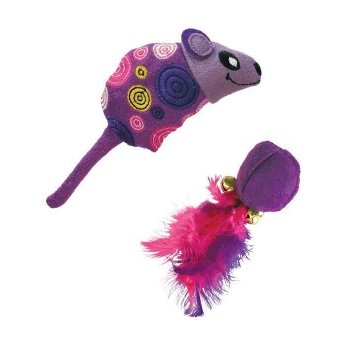 KONG Tropics Mouse Ball - 2 Pack