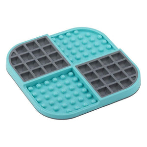 LickiMat Slomo Double Slow Feeder - Turquoise
