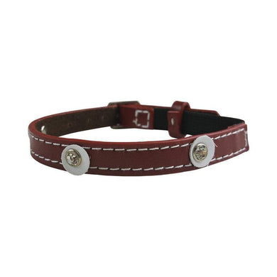MOET RED CAT COLLAR