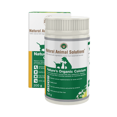 Nature's Organic Calcium 200g