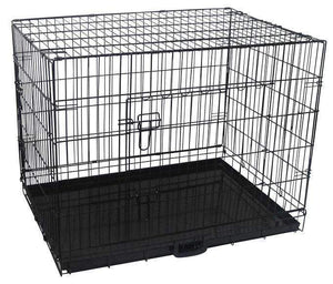 "Pet Care 36"" Dog Crate with Waterproof Cover"