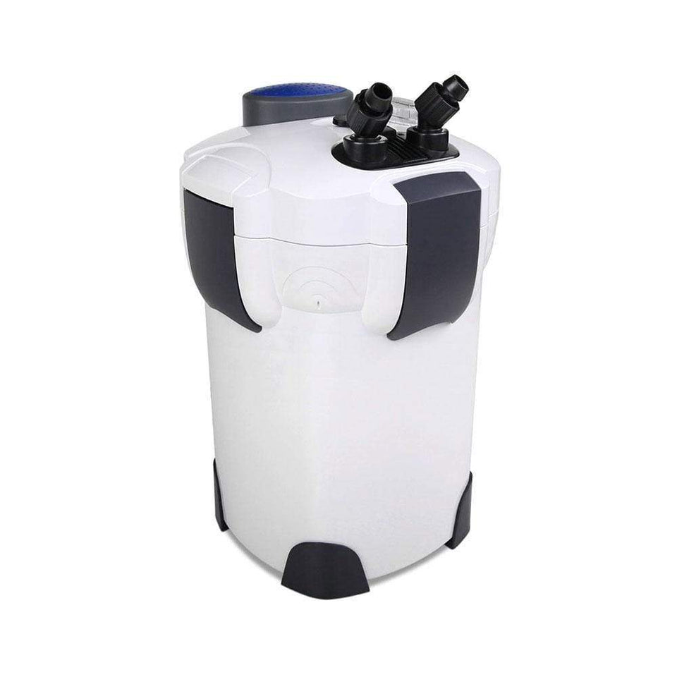 Pet Care Aquarium External Canister Filter Aqua Fish Tank UV Light with Media Kit 2400L/H