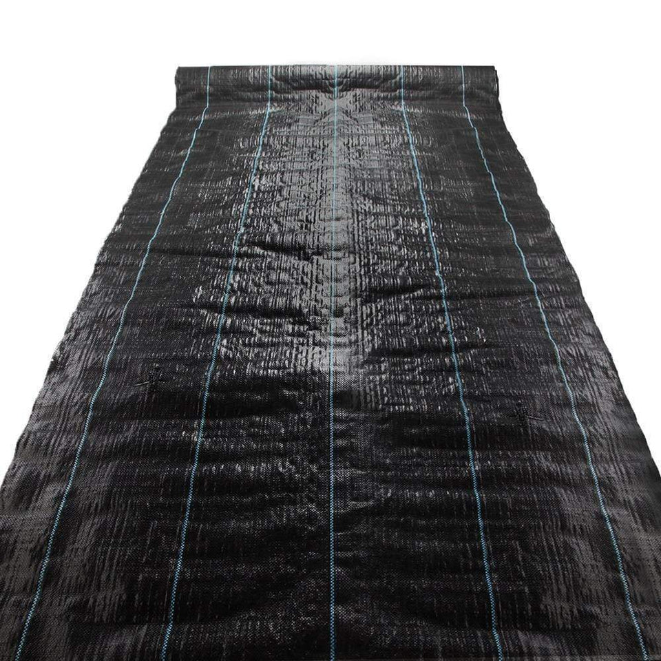 Pet Care Instahut 3.66m x 30m Weedmat Weed Control Mat Woven Fabric Gardening Plant PE