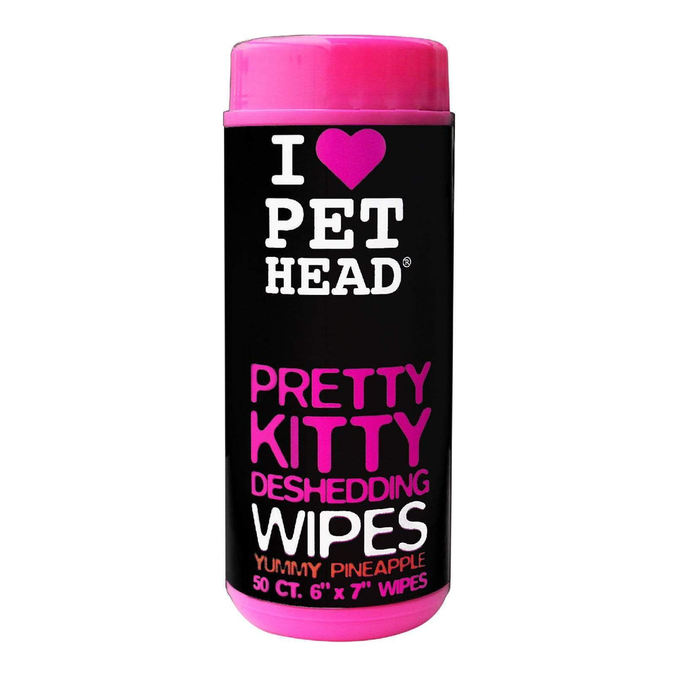 Pet Head Cat - Pretty Kitty Wipes 50pk