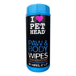 Pet Head Dog - Paw & Body Wipes 50pk