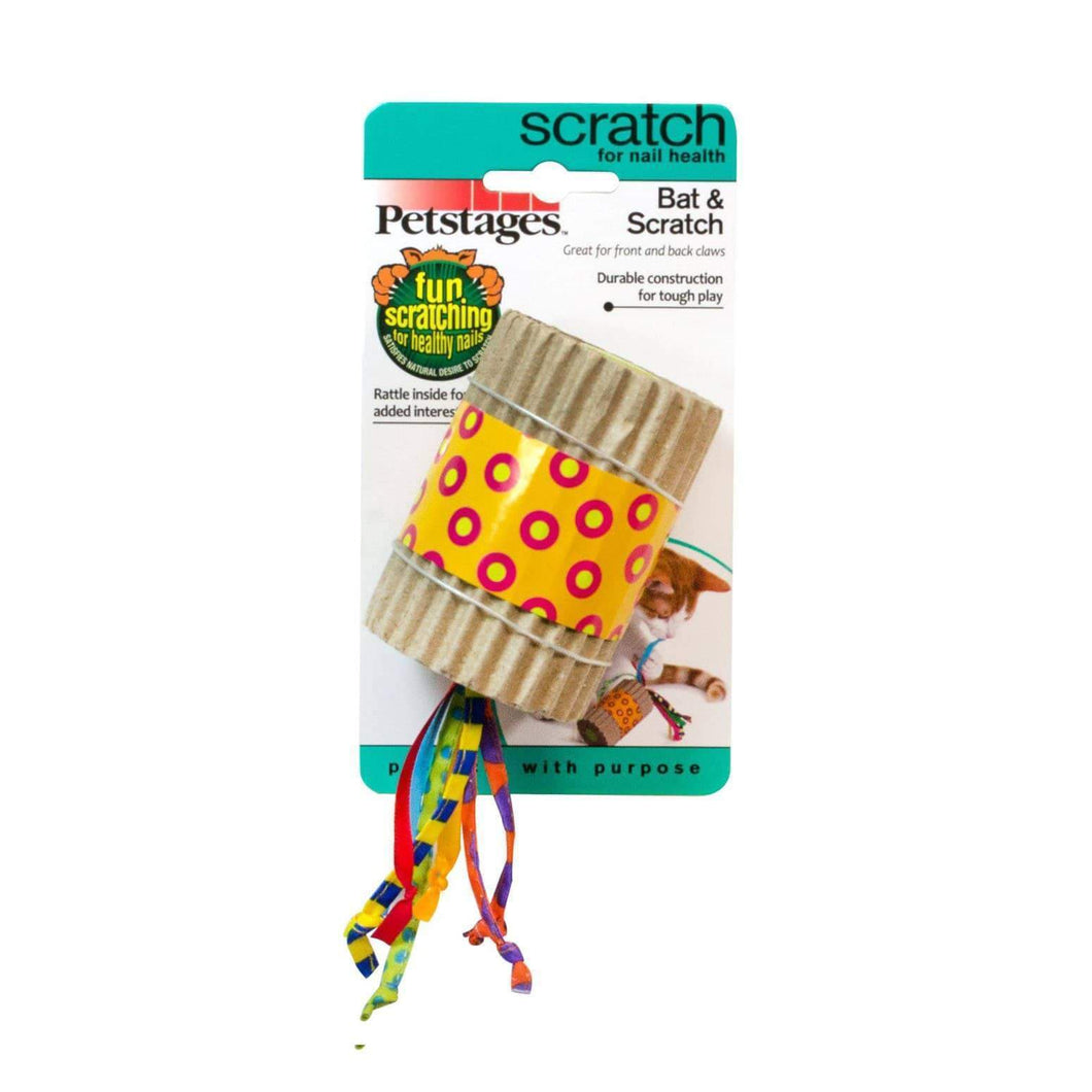 Petstages Bat And Scratch Cat Toy