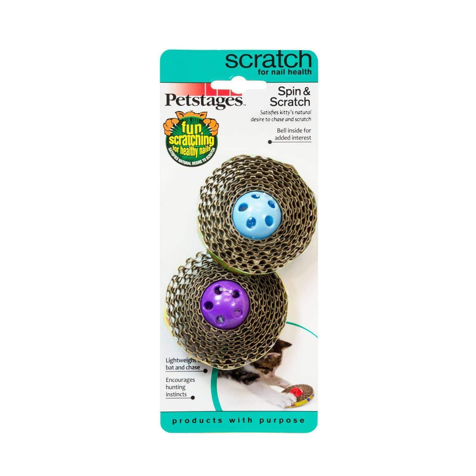 Petstages Spin And Scratch Cat Toy