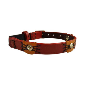 RED FELIX CAT COLLAR